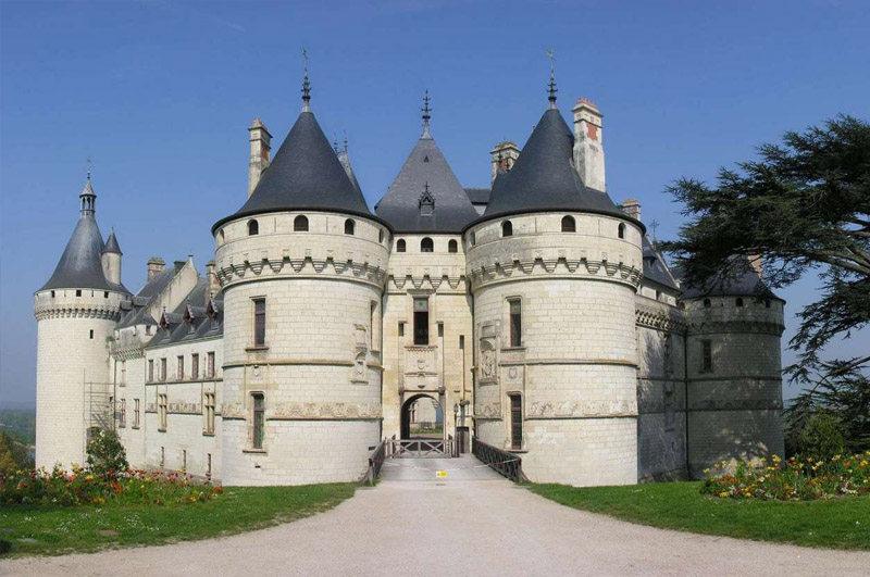 le ch teau de chaumont sur loire manoir de la voute. Black Bedroom Furniture Sets. Home Design Ideas