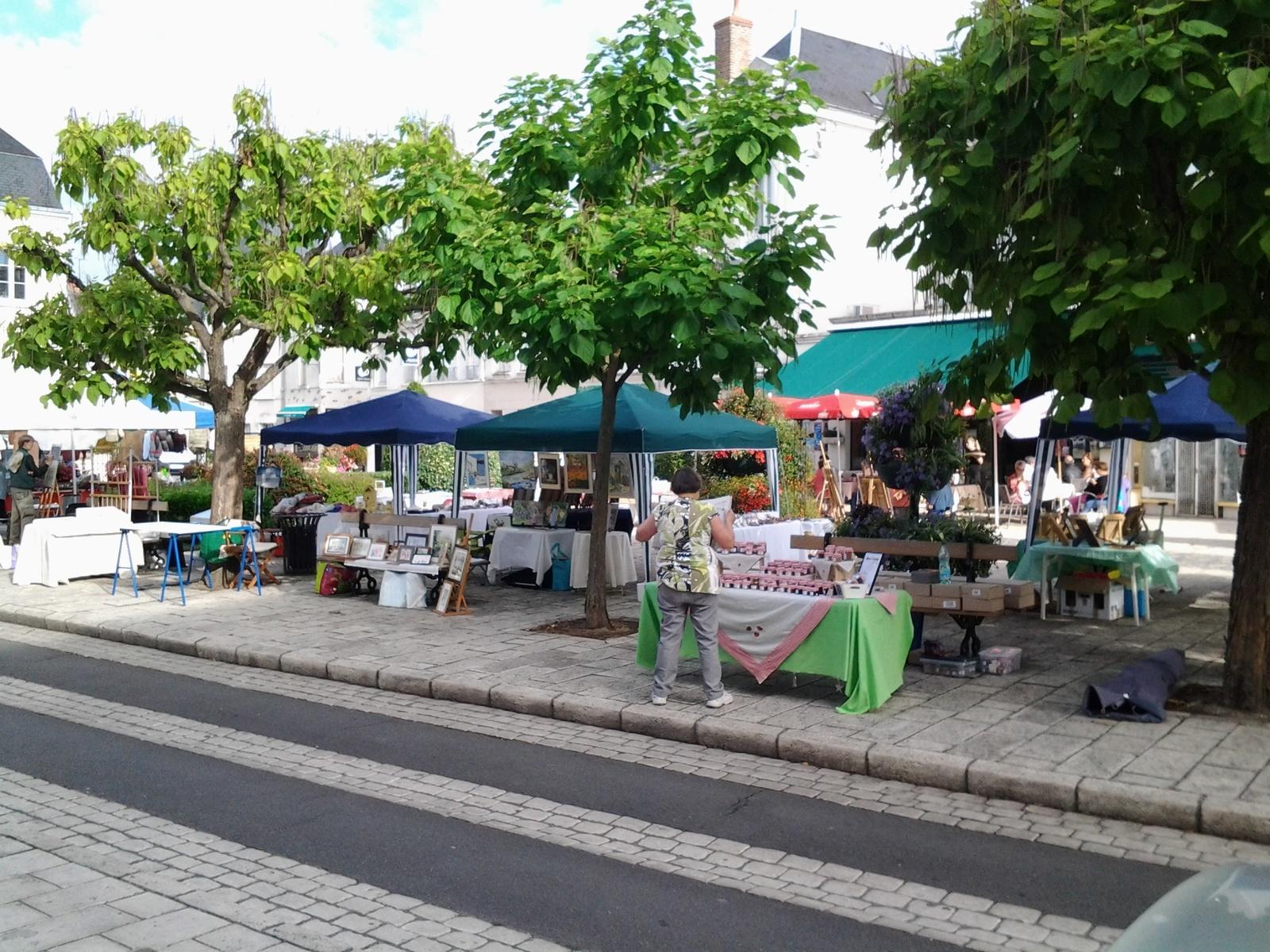 Marché Selles sur Cher