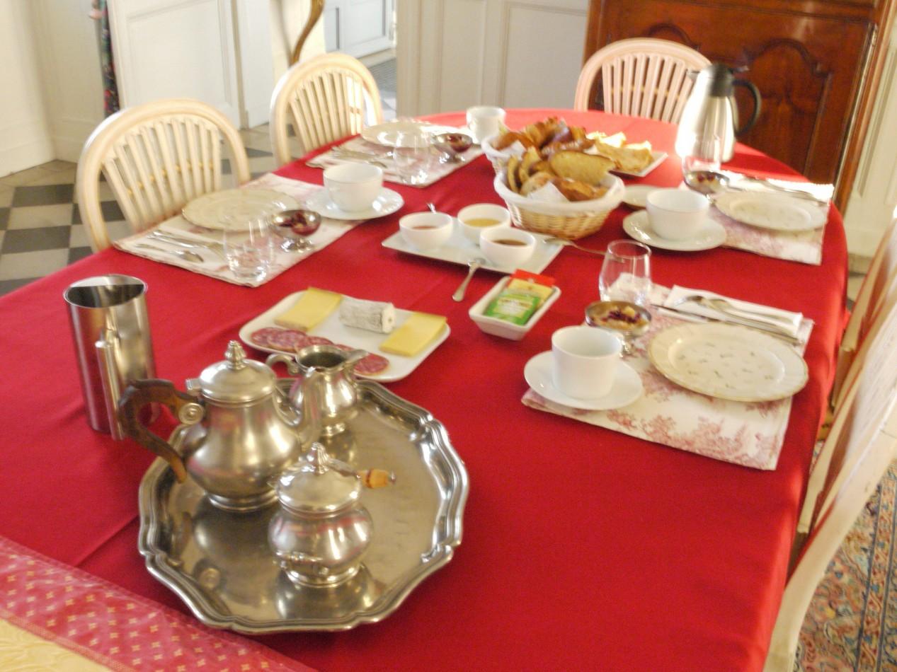 chambre hote petit dejeuner