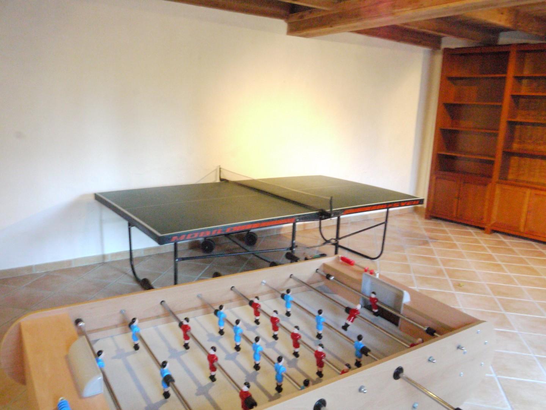 Salle de jeux chambres d'hotes chateaux de la Loire