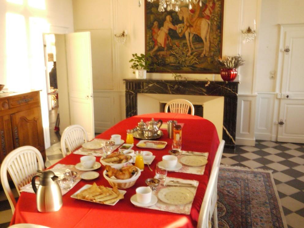 Chambres d'hotes avec petit déjeuner chateaux de la loire